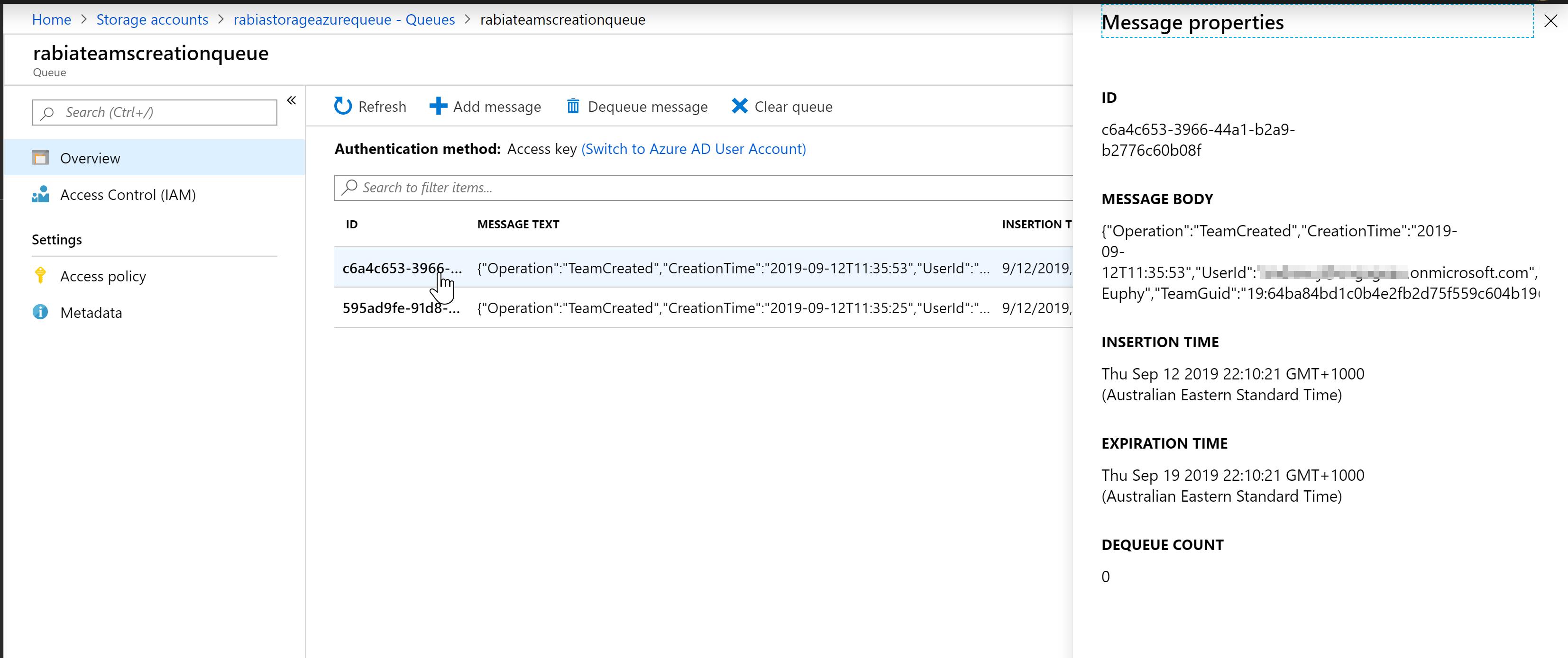 Using O365 Management Activity API to track Microsoft Teams Creation